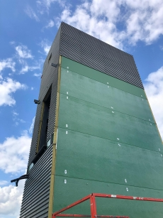 Industrial cladding, modular building Cladders, commercial Brick Slip